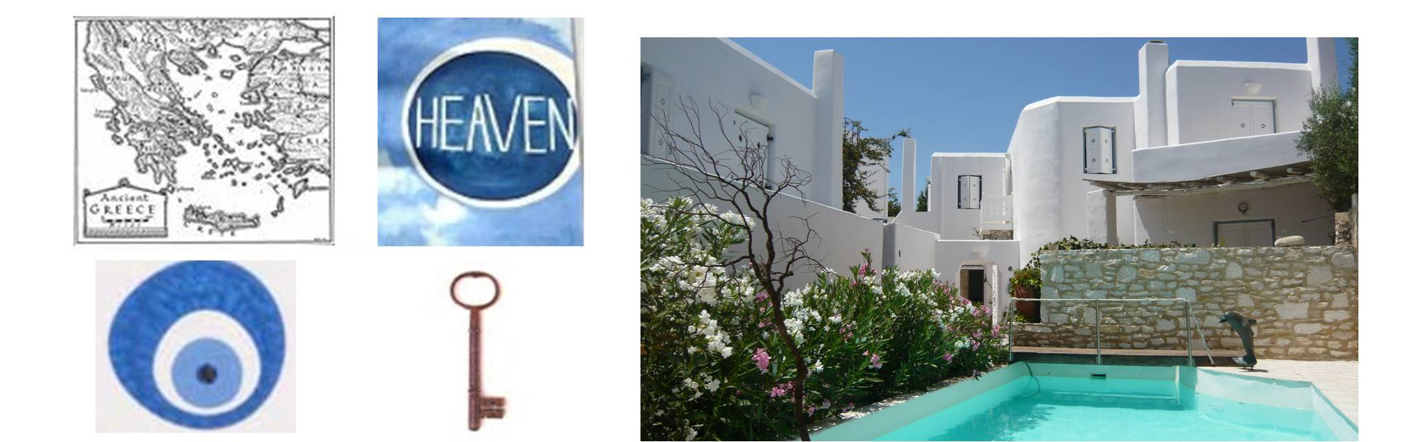 Maisonettes for rent from Heaven Hotel in Naoussa Paros